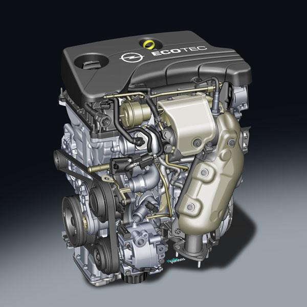 Motor 3 cilindros Opel Adam