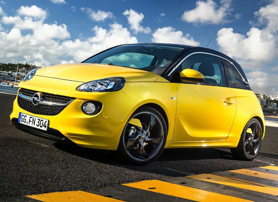 La imagen del Opel Adam es uno de sus principales reclamos.