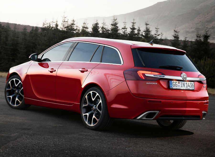 El Opel Insignia OPC cuenta con un motor de 325 CV.