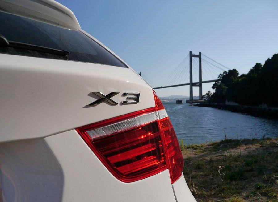 Prueba BMW X3 2.0d Xdrive 184 CV 2013, detalles, Rubén Fidalgo