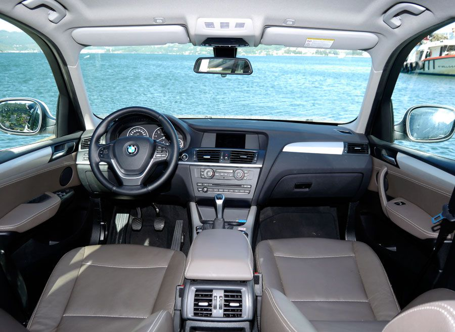 Prueba BMW X3 2.0d Xdrive 184 CV 2013, interior, Rubén Fidalgo