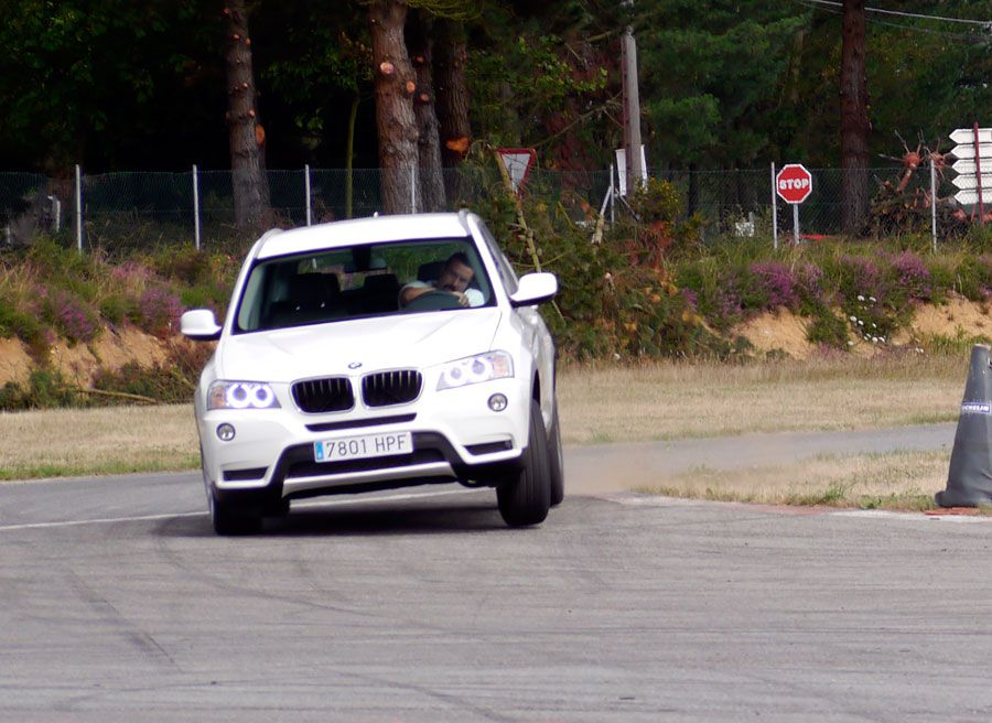 Prueba BMW X3 2.0d Xdrive 184 CV 2013, A Pastoriza, Rubén Fidalgo