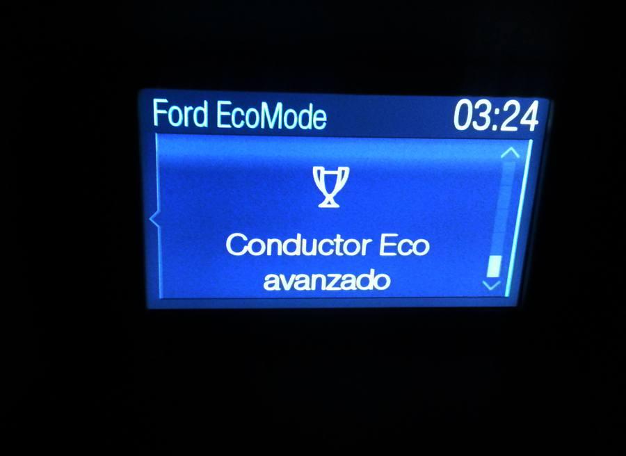 Prueba Ford Fiesta Ecoboost Sport 125 CV, ecomode, Rubén Fidalgo