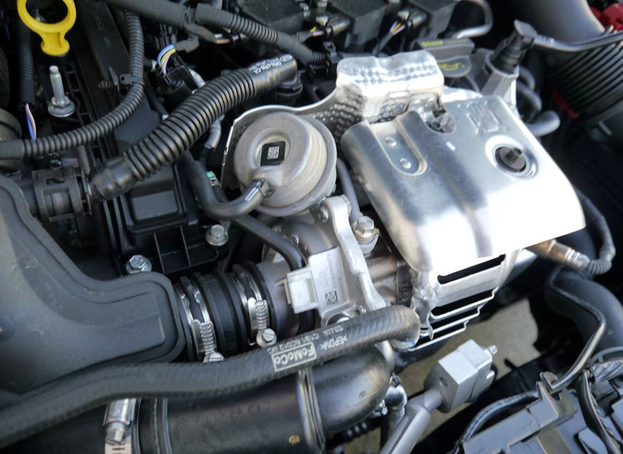Prueba Ford Fiesta Ecoboost Sport 125 CV, turbo, Rubén Fidalgo