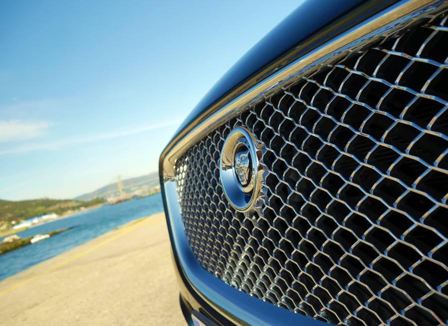 Prueba Jaguar XJ 3.0d 274 CV, Cangas, Rubén Fidalgo