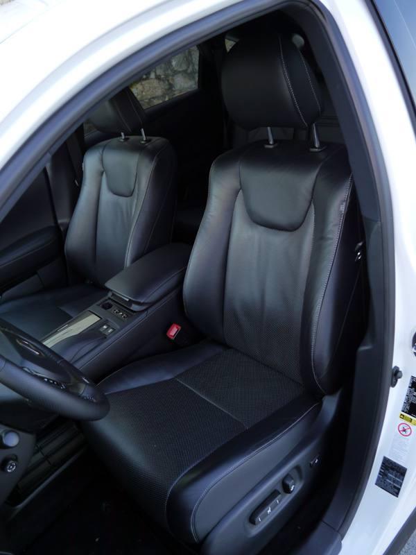 Prueba Lexus RX 450h F Sport, interior, Rubén Fidalgo