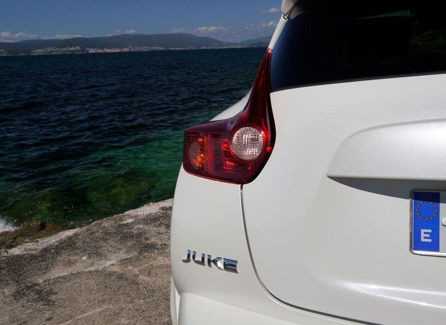 Prueba Nissan Juke Nismo 2013, Bueu, Rubén Fidalgo