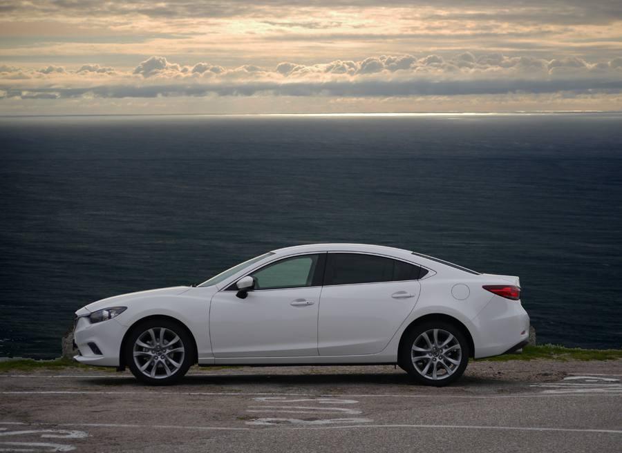 Prueba nuevo Mazda 6 2.5 GE 192 CV, Monte Tecla, Rubén Fidalgo