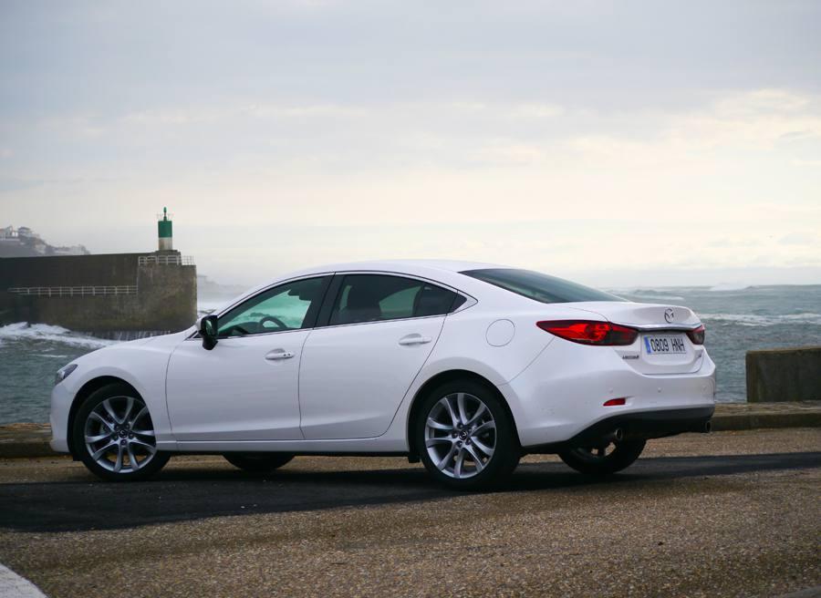 Prueba nuevo Mazda 6 2.5 GE 192 CV, La Guardia, Rubén Fidalgo