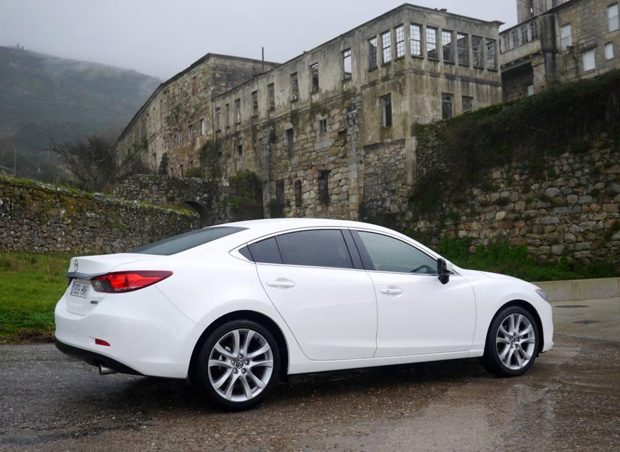 Prueba nuevo Mazda 6 2.5 GE 192 CV, Santa María de Oia, Rubén Fidalgo