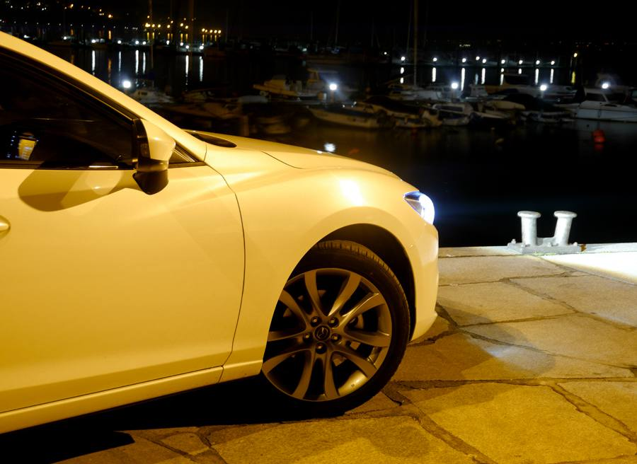 Prueba nuevo Mazda 6 2.5 GE 192 CV, Teis, Rubén Fidalgo