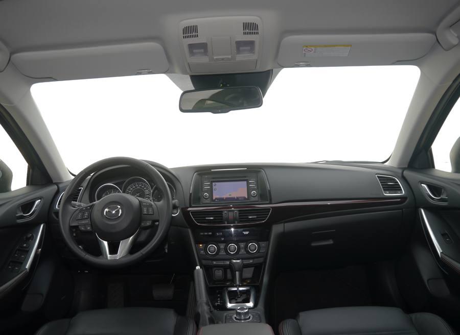 Prueba nuevo Mazda 6 2.5 GE 192 CV, interior, Rubén Fidalgo