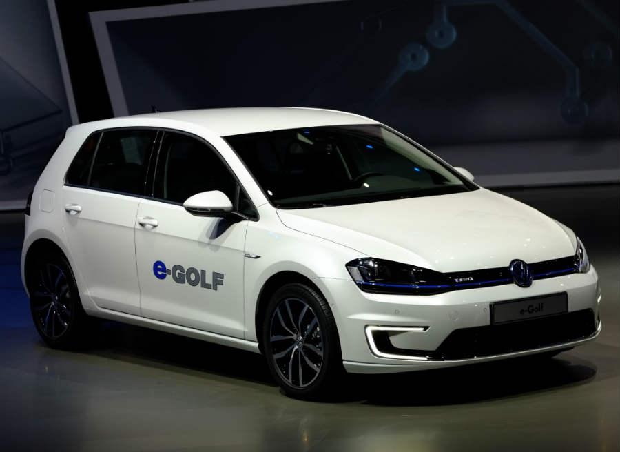 El Volkswagen e-Golf ha sido presentado en el Salón de Frankfurt.