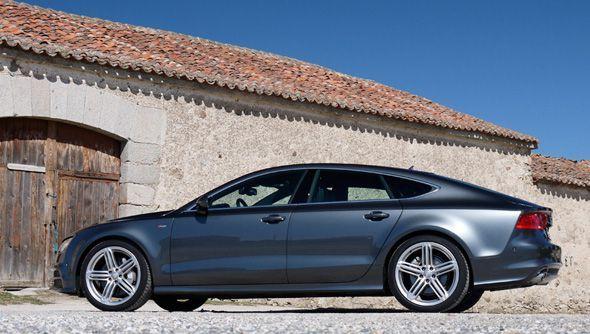 Prueba del Audi A7 TDi Biturbo