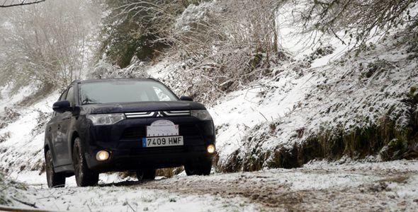 Probamos el Mitsubishi Outlander 4WD 2012