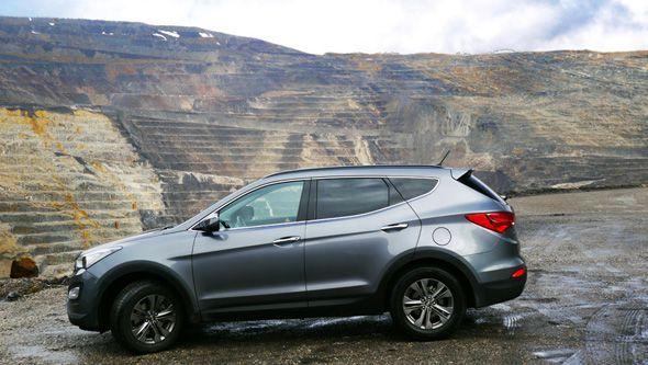 Hyundai Santa Fe 7 plazas 2WD 2013: prueba