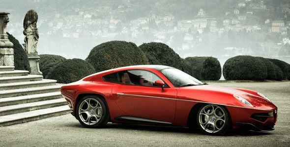 Alfa Romeo Disco Volante 2013: fabricación bajo pedido