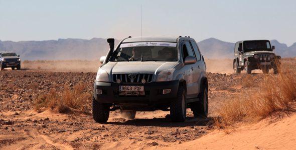 Ecodesafío Burn Marruecos 2013: consumir poco entre dunas