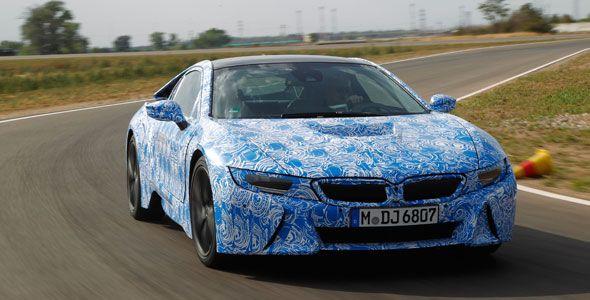 BMW i8, con un consumo de menos de 2,5 l/100 km
