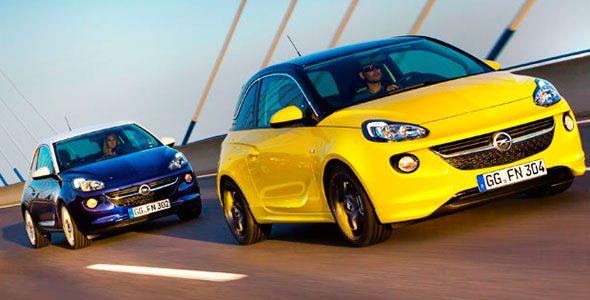 Opel Adam: nuevo motor y más opciones de personalización para Frankfurt