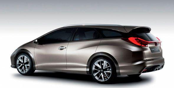 Nuevo Honda Civic Tourer, listo para Frankfurt 2013 junto al NSX Concept