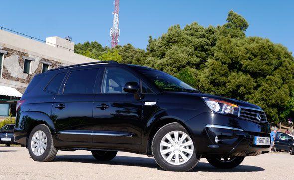 SsangYong Rodius XDi 200 Premium 2WD 2013; lo ponemos a prueba
