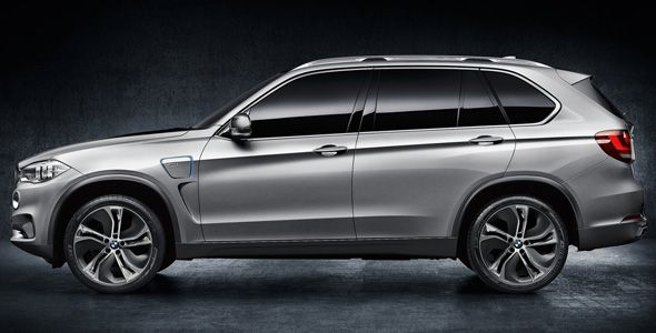 BMW X5 Concept eDrive: SUV híbrido enchufable