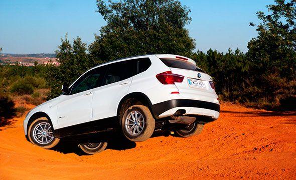 El BMW X3 2.0d Xdrive 184 CV 2013, a prueba