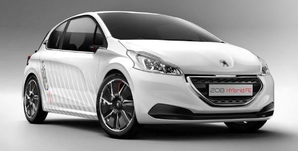Peugeot 208 Hybrid FE Concept: todo por la eficiencia