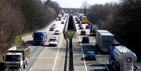 La mitad de los camioneros no utiliza el cinturón de seguridad