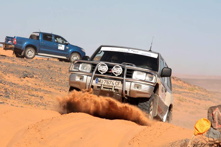 Ecodesafío Burn Marruecos 2012