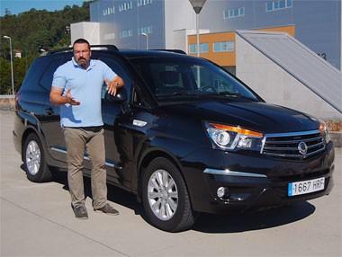 SsangYong Rodius Premium 2.0 XDi 2WD: La prueba en vídeo