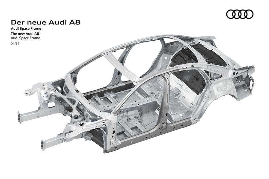 Las carrocerías de aluminio de Audi ASF cumplen 20 años