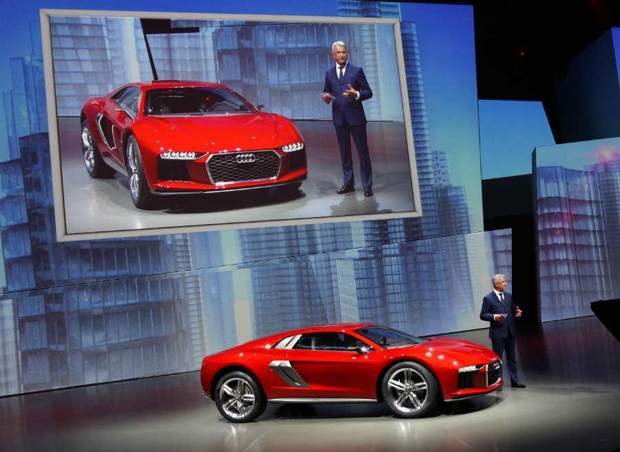 El Nanuk Quattro Concept es una de las estrellas de Audi en el Salón de Frankfurt.