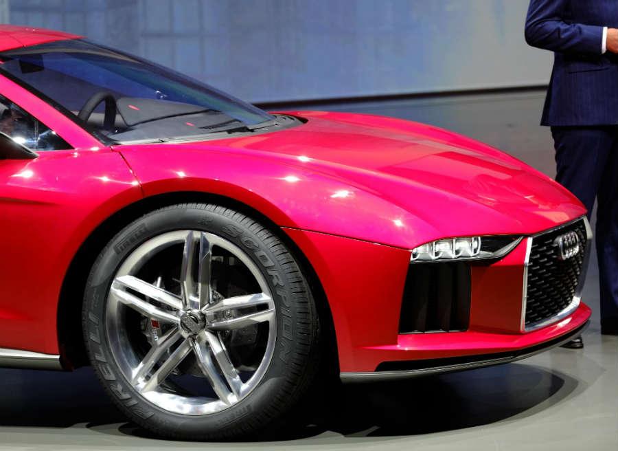 El Audi Nanuk Quattro Concept cuenta con unas enormes llantas de 22 pulgadas.