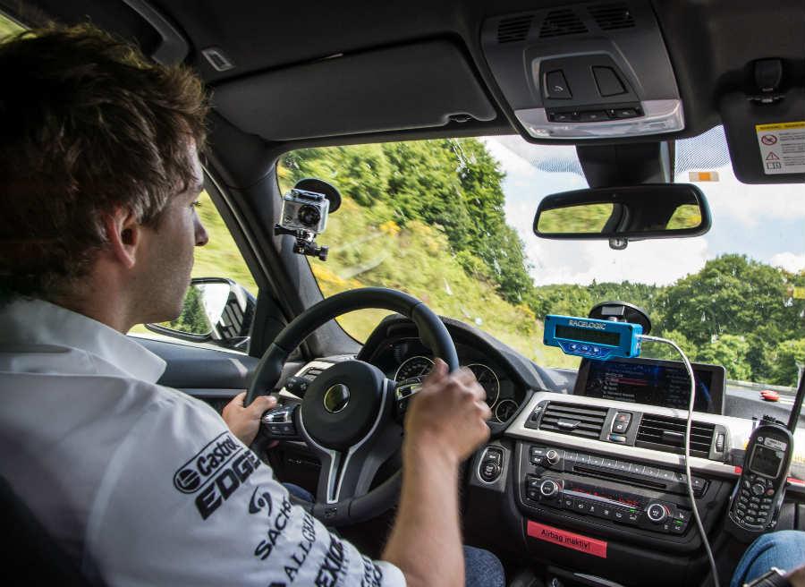 El ex-piloto de Fórmula 1 Timo Glock es uno de los encargados de poner a punto el nuevo BMW M4.