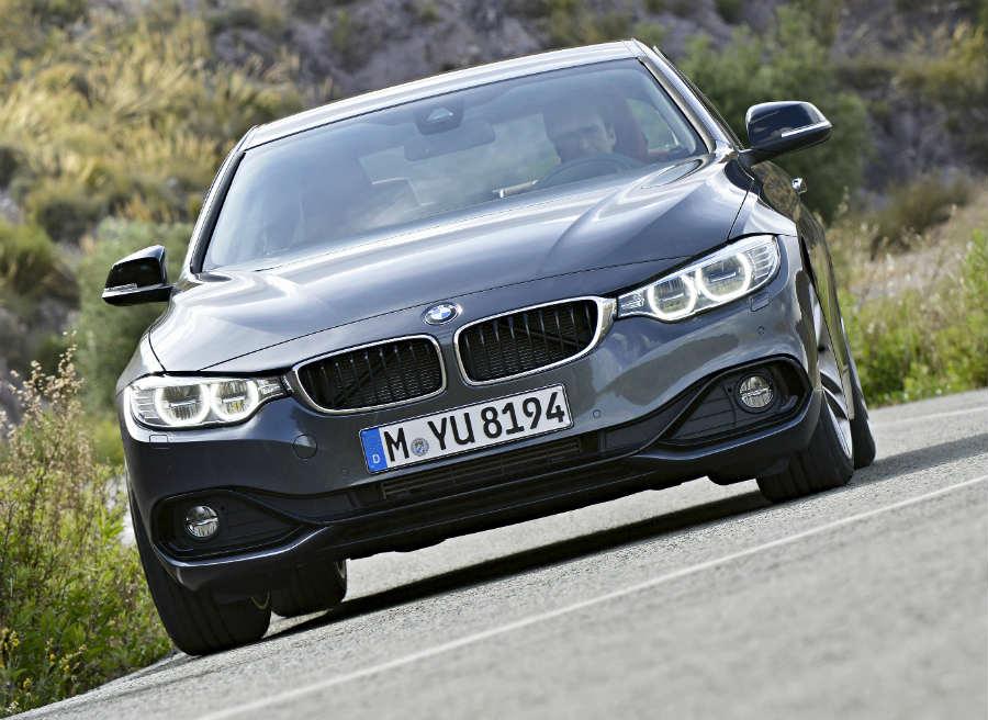 El comportamiento dinámico del BMW Serie 4 Coupé roza la perfección.
