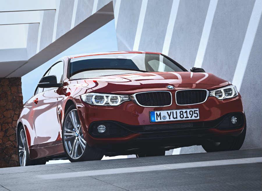 La imagen del nuevo BMW Serie 4 Coupé es imponente.