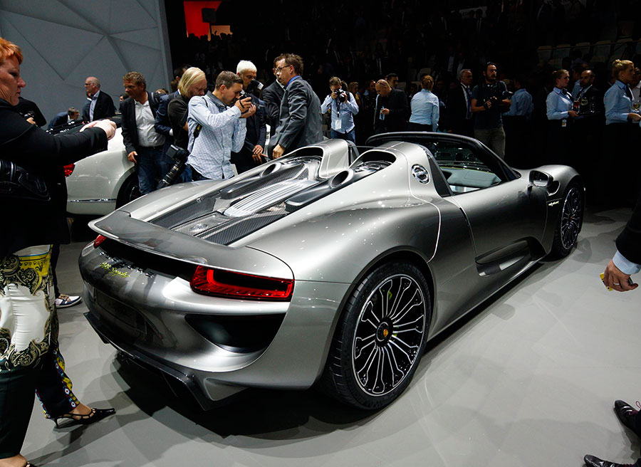 Debut Porsche 918 Spyder Frankfurt 2013