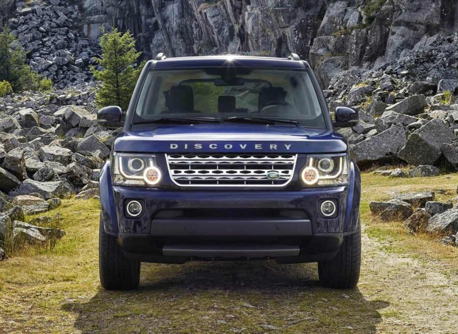 El frontal del Discovery contará ahora con el nombre del modelo en lugar de Land Rover.