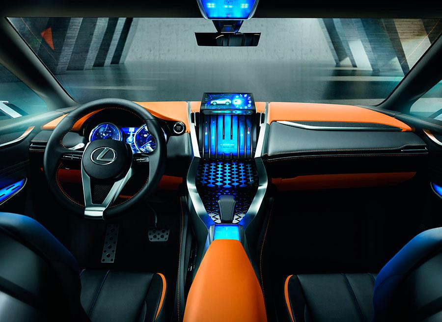 Lexus LF-NX Frankfurt 2013