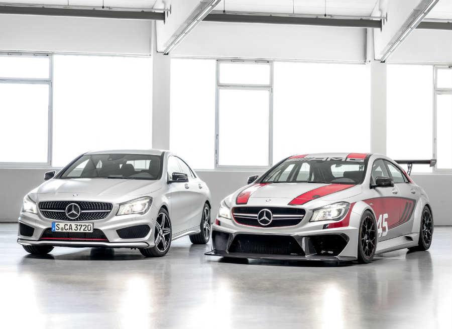 Las diferencias entre el modelo de calle y el de carreras son más que evidentes.