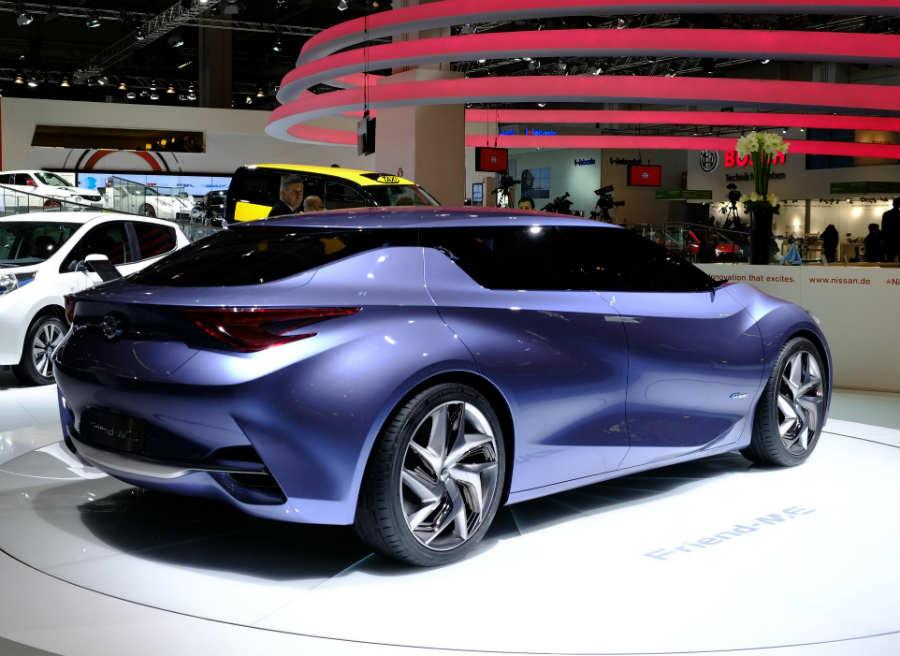 El aspecto estético del Nissan Friend-Me Concept es espectacular.