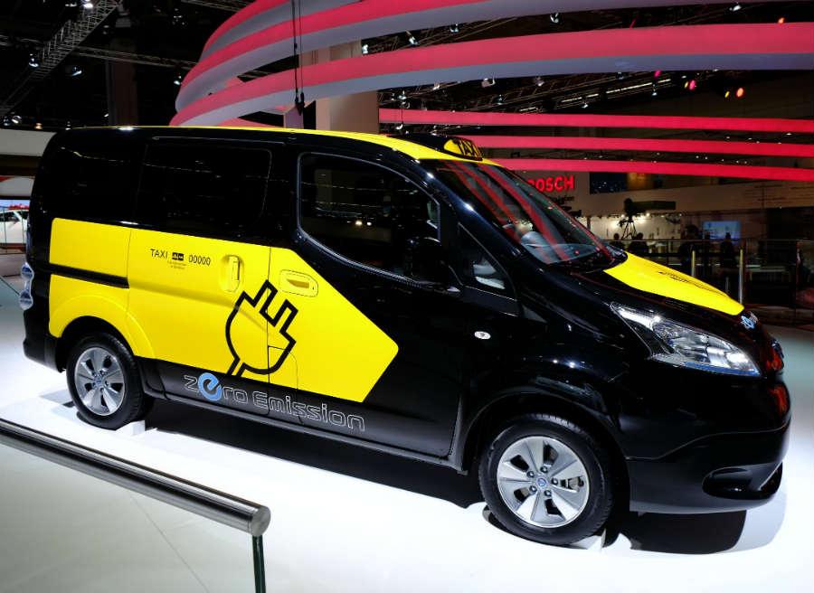 El Nissan e-NV200 será un habitual de las calles de Barcelona en un tiempo.