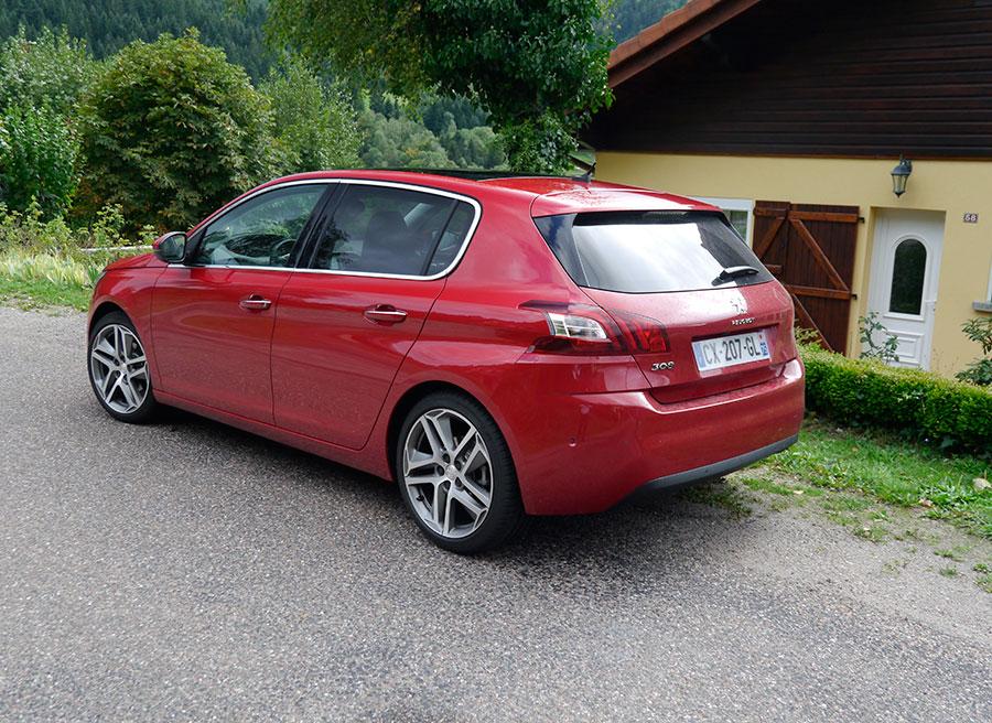 Presentación y prueba Nuevo Peugeot 308 MY 2013