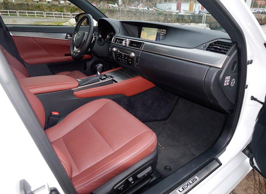 Prueba Lexus GS 250 F Sport 2013, interior, Rubén Fidalgo