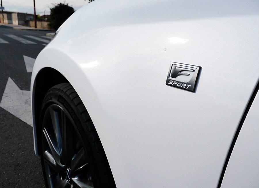 Prueba Lexus GS 250 F Sport 2013, detalle, Rubén Fidalgo