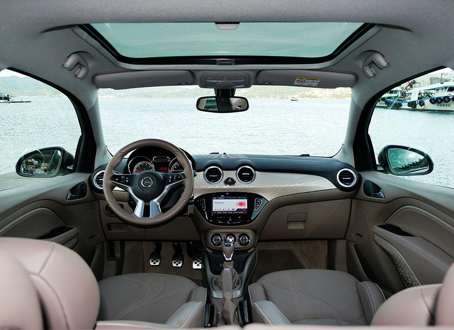 Prueba Opel Adam XER 1.4 100 CV Glam MY 2012, Rubén Fidalgo, Interior