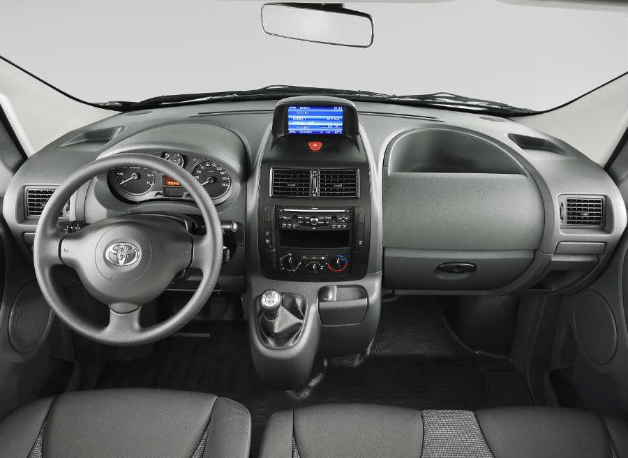 Interior del nuevo Toyota Proace.