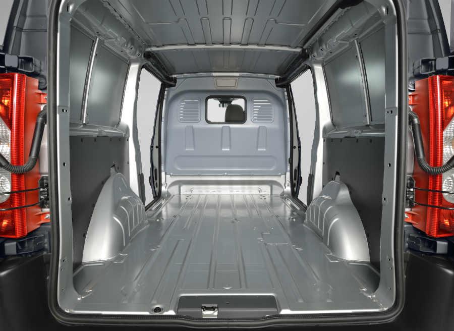 La capacidad de carga del Toyota Proace varía entre 5 y 7 metros cúbicos.
